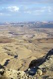 Crater Ramon Stock Photo