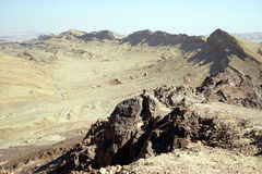 Crater Ramon Royalty Free Stock Image