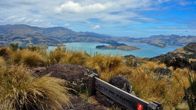 Crater Rim Hike. New Zealand Royalty Free Stock Photography
