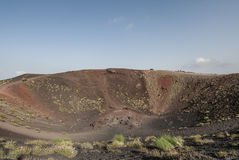 Crater siilvestri etna catania sicily italy europe Stock Photo