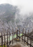 Crater of Tangkuban Perahu. Bandung in Jawa, Stock Image