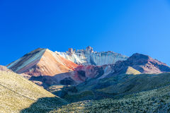 Crater of Tunupa Volcano in Bolivia Royalty Free Stock Photos
