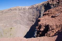 Crater of Vesuvius Royalty Free Stock Images