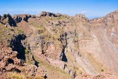 Crater of Vesuvius Royalty Free Stock Photo