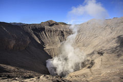Crater of volcano Bromo, Indonesia Royalty Free Stock Photos