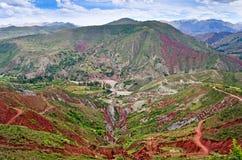 Crater of volcano Maragua, Bolivia Stock Photo