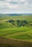 Cratera Fotografia de Stock Royalty Free