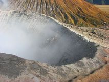Cratera da montagem Bromo fotografia de stock royalty free