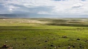 Cratera de África Tanzânia Ngorongoro fotos de stock