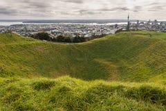 Cratera de Eden da montagem Fotografia de Stock