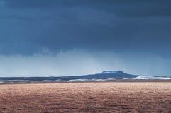 Cratera de Elborg Foto de Stock