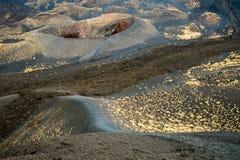 Cratera de Etna Foto de Stock