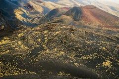 Cratera de Etna Imagens de Stock Royalty Free