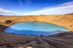 Cratera de Stora-Viti Imagens de Stock