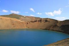 A cratera de Viti Imagens de Stock