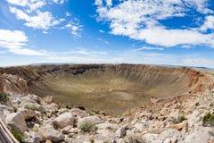 Cratera do meteoro, o Arizona imagens de stock