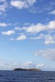 Cratera Maui de Molokini imagem de stock