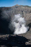 Cratera na montagem Bromo imagem de stock royalty free