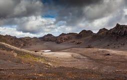 Cratera velha Fotos de Stock Royalty Free