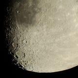 Crateras de lua Fotografia de Stock