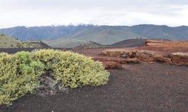 Crateras do monumento nacional da lua e da conserva, Arco, Idaho Imagens de Stock Royalty Free