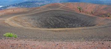 Cratere Fotografie Stock