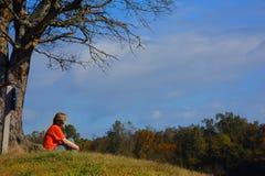 Cratere del parco di stato dei diamanti nell'Arkansas Fotografia Stock Libera da Diritti