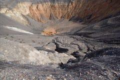 Cratere del vulcano Immagini Stock