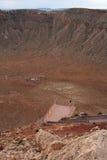 Cratere della meteora Immagine Stock