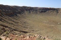 Cratere della meteora immagine stock libera da diritti
