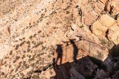 Cratere della meteora in Arizona fotografia stock
