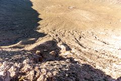 Cratere della meteora in Arizona fotografie stock