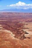 Cratere di Canyonlands Immagine Stock Libera da Diritti