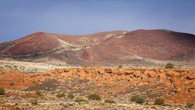 Cratere di Doney in monumento nazionale di Wupatki Fotografia Stock