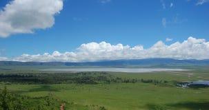 Cratere di Ngorongoro in Tanzania Fotografia Stock Libera da Diritti