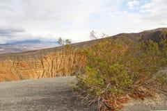 Cratere di Ubehebe nel parco nazionale di Death Valley, California Fotografia Stock Libera da Diritti