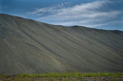Cratere in Islanda Immagine Stock Libera da Diritti