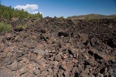 Cratere Volcano National Monument di tramonto Fotografie Stock Libere da Diritti