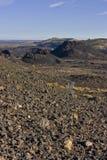 Crateri della luna Fotografia Stock