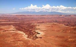 Crateri di Canyonlands Fotografie Stock Libere da Diritti