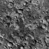 Crateri lunari Fotografia Stock