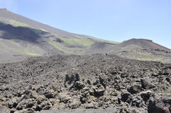 Craters of Etna. Sicily. Italy. Royalty Free Stock Photos