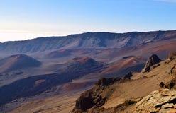 Haleakala National Park in Maui royalty free stock image