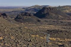 Craters of the Moon. National Monument near Arco Idaho royalty free stock photos