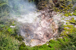 The Craters of the Moon is a geothermal walk located just north of Taupo. Royalty Free Stock Photos