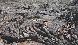 Craters of the Moon National Monument in Idaho royalty free stock photography
