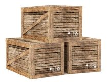 Crates Stock Images