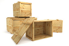 Crates Royalty Free Stock Photo
