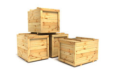 Crates Stock Image