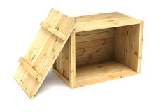 Crates Royalty Free Stock Photography